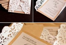 Wedding invites / by Emily Hellmann