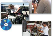 A&P Mechanic Test Prep / General, Airframe & Powerplant Knowledge (Written) Test Prep Courses