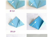 Origami / Paper crafts / Paper flowers