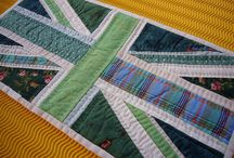 Quilts // Flaggen // Flags / Quilts im Flaggendesign, patriotic quilts