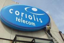 Mise en place de l'enseigne Coriolis Télécom