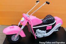motorbike cakes