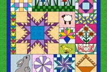 BOM Quilts / Block of the month quilts
