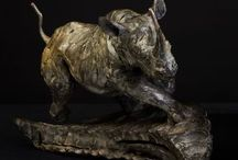 African Wildlife Sculpture / Bronze limited edition sculptures by Hamish Mackie