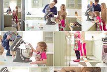 Baking family session