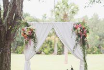 Ceremony Decor / Beautiful ceremony decor inspiration