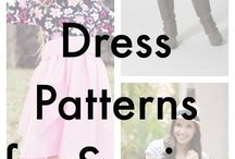 Dress Patterns / Cards