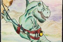 T-Rex...