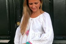 Casual Look / Blusas, blusones, tops, vestidos, collares, carteras, moda femenina