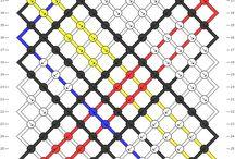 karkötő minták / barátság-karkötő minták