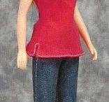 Барби (шьем одежду сами)