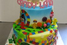 J's 4th birthday / A Candyland inspired birthday