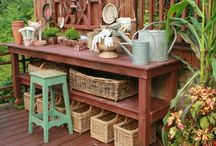 gardens: potting stations