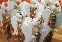 wood angels