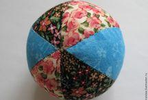лоскутные мячи