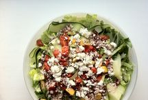 Hello Healthy Salads!  / For supper or lunch!! Salads are for all times!  / by Elysa Kuffert