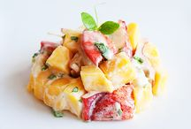 lobster mango salad