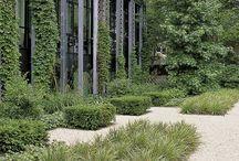 BEDRIJFSTUIN: VAN RAAIJEN HOVENIERS (company gardens) / De bedrijfstuin is het visitekaartje van elk bedrijf. Daarnaast is de bedrijfstuin een groene ontspanningsruimte voor de medewerkers. Van Raaijen Hoveniers - Almere - voor het ontwerp en aanleg van bedrijfstuinen.