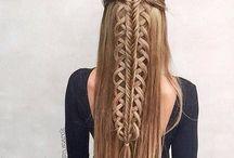 κοτσίδες για μαλλιά