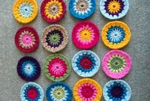 Starburst flower blanket