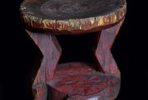 Traditional African Stool