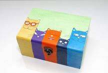 Painting boxes
