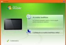 WinCE es a Mobile Device Center. Fajlkezeles / Hogyan kapcsolódjunk?