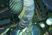 upon landers / buildings