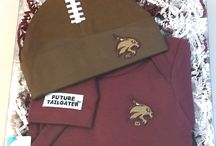"""Texas State Bobcats Baby / Future Tailgater offers awesome Texas State Bobcats baby apparel, accessories & gift sets for baby fans. Our items will make you smile cause they're """"Made to Play""""!"""
