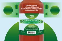 DESTILLERAT VATTEN - Gelest AB / Destillerat vatten av livsmedelskvalitet. Dricksvatten håller 30 uS renhet.  Destillerat vatten håller typiskt 2-3 microSiemens (uS) renhet. Vi garanterar en renhet på under 2 microSiemens (uS). Innehåll: Destillerat vatten av livsmedelskvalitet.