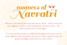 Nuances of Navratri! / #Navratri is here and so are we! Update your saree collection with these beautiful weaves from across the country.