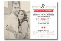 Invitations / Engagement and wedding