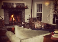 """Romantic Getaways in Vermont / The Red Clover Inn in Mendon, Vermont is """"a feast for the senses in an idyllic setting."""" - Boston Globe"""