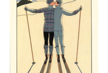 French ski posters