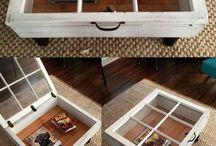 деревянные предметы интерера