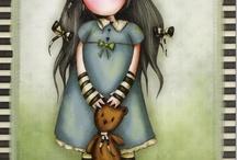 disegni bamboline