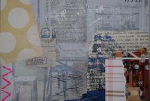 Créations / art, création, peinture, collage, tableau