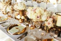 Weddings and décor tables