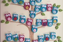 Crochet Owls - Heklaðar Uglur