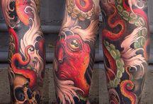 Tattoo's - Octopus