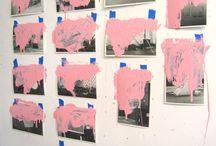 розовая подошва