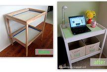 Repurposed change tables