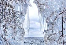 Is og sne - fantasy winter wonderland / Inspiration til børneromanen AYLIL - Vinterdronningens Datter // Inspiration for the children's novel AYLIL - the Winter Queen's Daughter