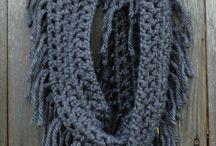 bufandas y cuellos