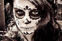 Day of the Dead - Sugar Skull Candy, Art and Makeup / Keep your vampires, werewolves and zombies.....give me cool looking skulls! / by Sandra McCarty