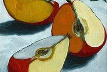 Maalauksia omenoista