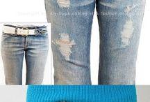 Verstoren Van Jeans