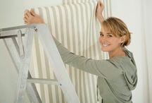 Saiba como Aplicar Papel de Parede em 8 Passos!!! Renove o Ambiente! / Veja + Inspirações e Dicas de decoração no blog!  www.construindominhacasaclean.com