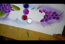 pintando uvas...
