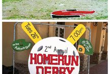 Home Run Derby / by Shelby Holteen